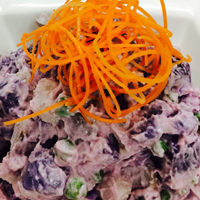 Okinawan Sweet Potato Salad